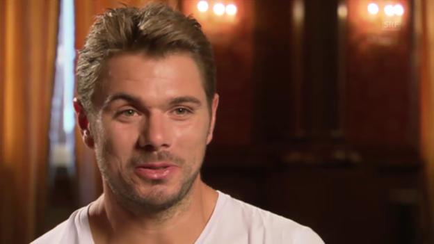 Video «Tennis: Wawrinka über sein 1. Halbjahr 2015» abspielen
