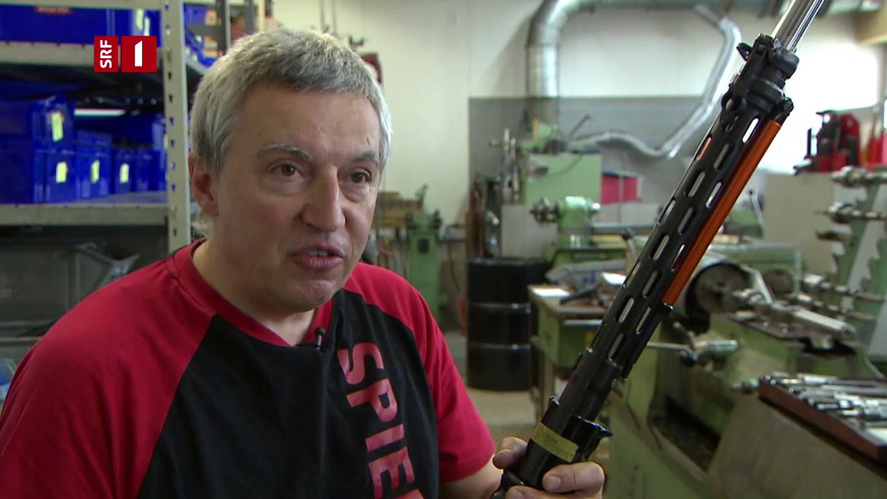 Schweiz an vierter Stelle - Waffen: So begehrt wie nie zuvor - DOK - SRF