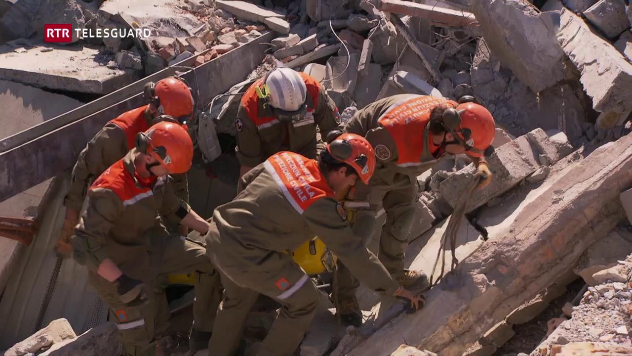 A Landquart è vegnì exercità per il cas da catastrofa