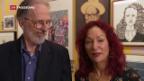 Video «Robert Crumb im Cartoon-Museum Basel» abspielen