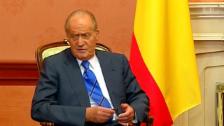Video «Unbescheidener Juan Carlos» abspielen