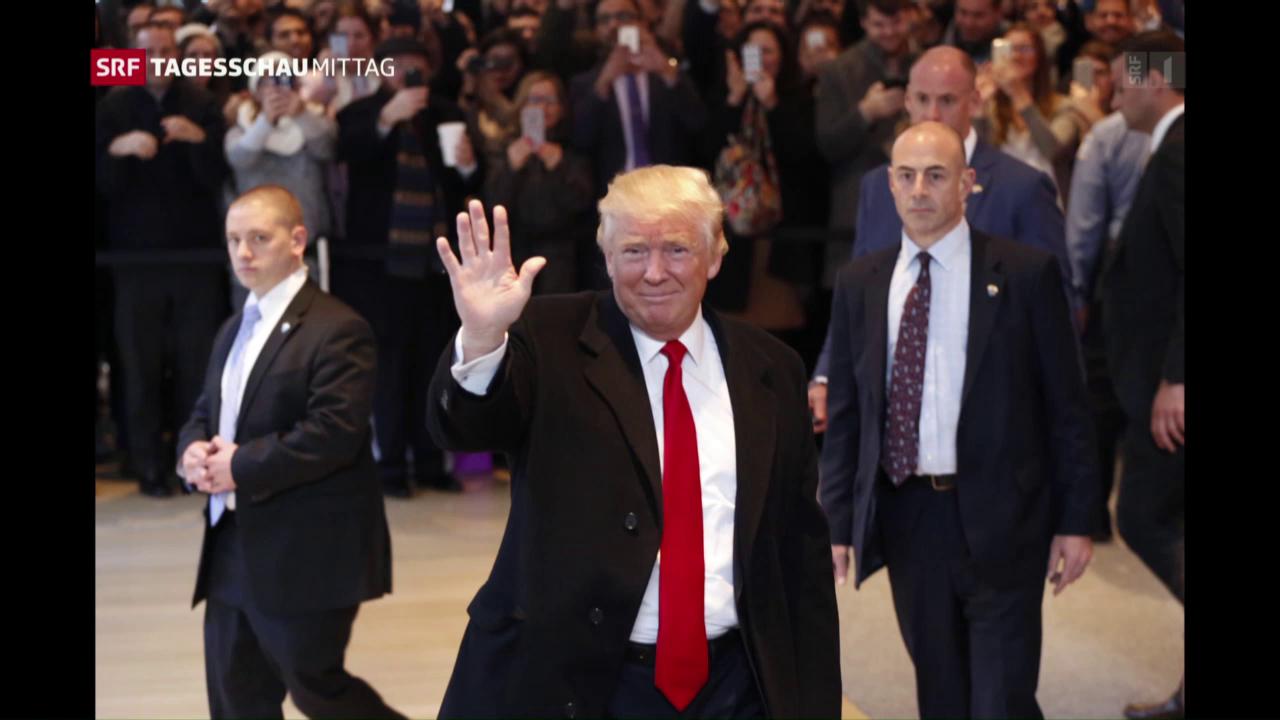 Kurswechsel bei Donald Trump