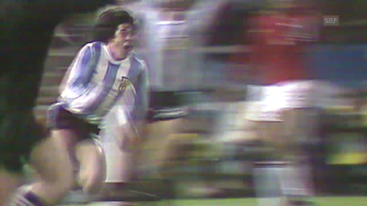 Fussball: WM 1978, ARG-PER