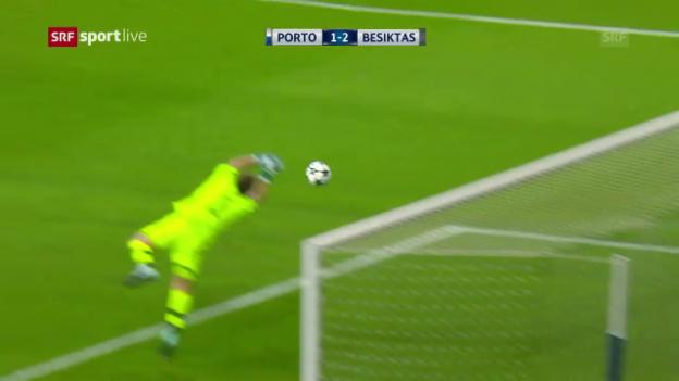 Video «Deftige Heimniederlage für Porto» abspielen