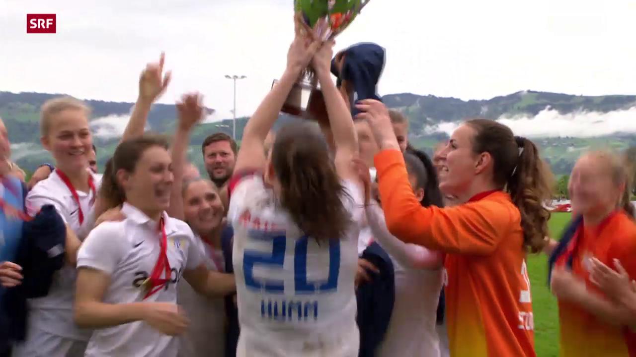 Fussball: Cupfinal Frauen, Zürich - Basel