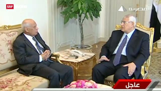 Ägyptens Fahrplan für den Neuanfang