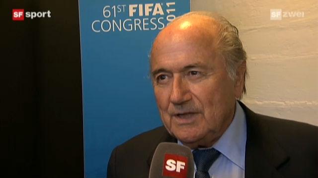 Interview mit Sepp Blatter («sportaktuell»)