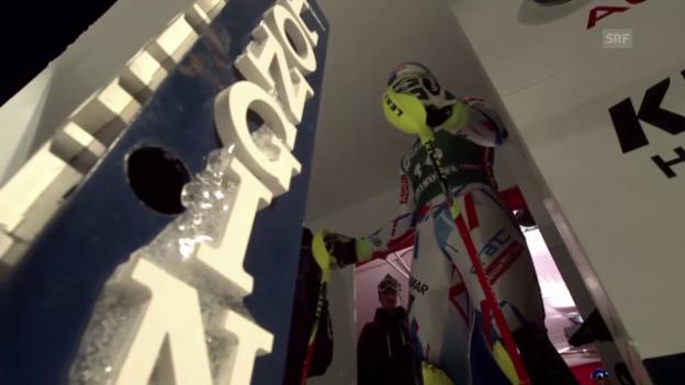 Video «Starke Fahrt: Der Kombi-Slalom von Pinturault» abspielen