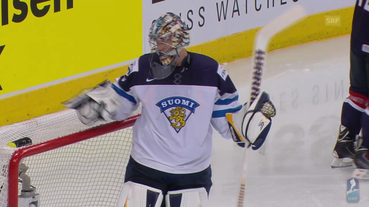 Eishockey: WM, USA - Finnland