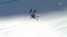 Video «Ski, Super-G Frauen, Ausfall-Festival (sotschi direkt, 15.02.14)» abspielen
