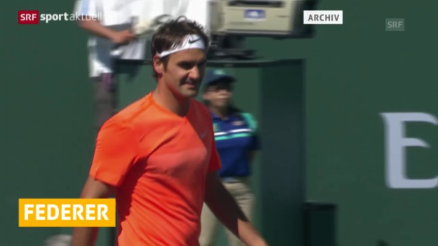 Video «Tennis: Roger Federers Premiere in Istanbul» abspielen