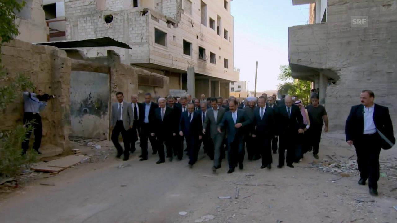 Nur weil Assad Anzug und Krawatte trägt, denkt er nicht westlich