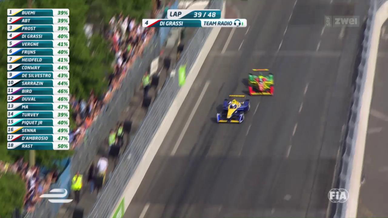 Buemi gewinnt Formel-E-Rennen in Berlin