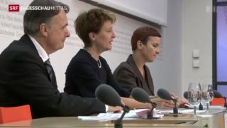 Video «Bundesrat gegen Ecopop-Initiative» abspielen