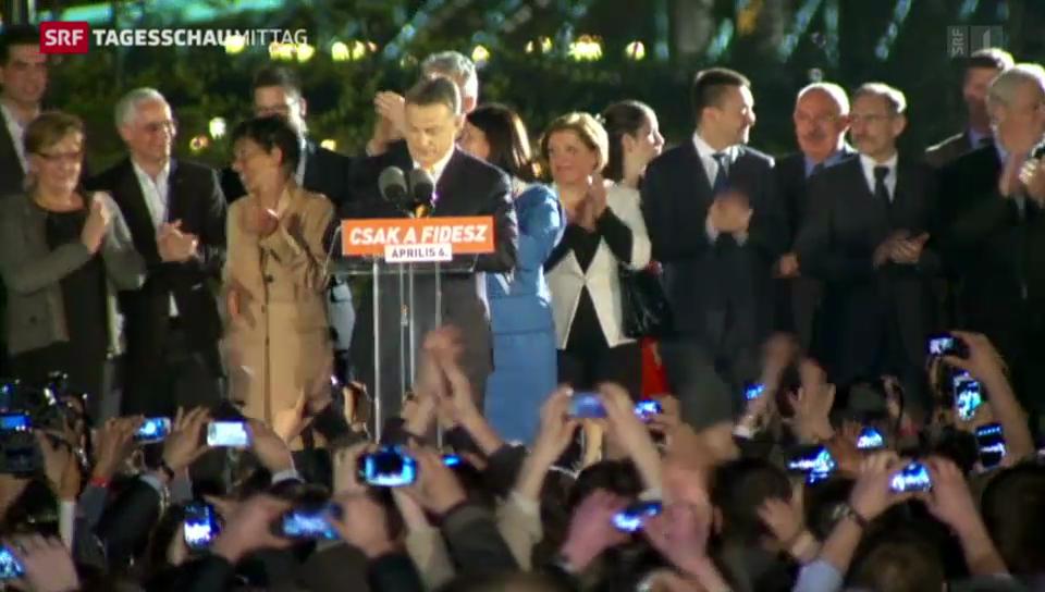 Wahlsieg für Orban
