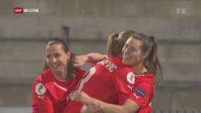 Video «Starke Frauen in der Fussball-Nationalmannschaft» abspielen