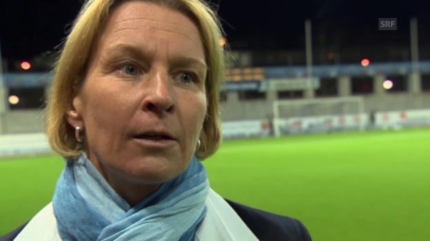 Video «Fussball: Interview mit Martina Voss-Tecklenburg» abspielen