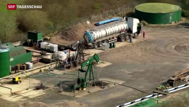 Video «Riesiges Ölfeld in England entdeckt» abspielen