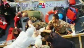 Video «Tote und Überlebende nach Bootsunglück auf Inseln verteilt» abspielen