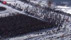 Video «Langlauf: Engadin Skimarathon - das Volksfest» abspielen