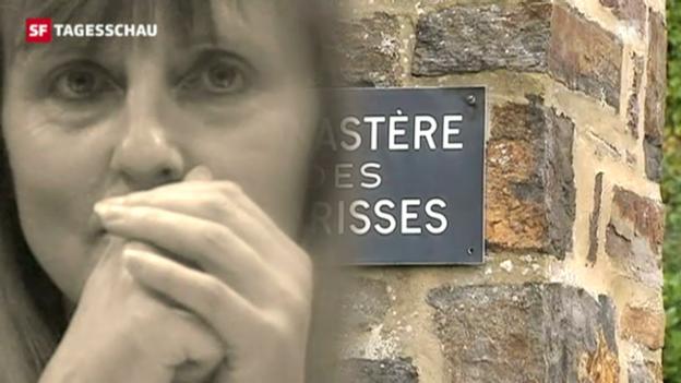 Video «Protest gegen vorzeitige Entlassung von Komplizin eines Kinderschänders» abspielen