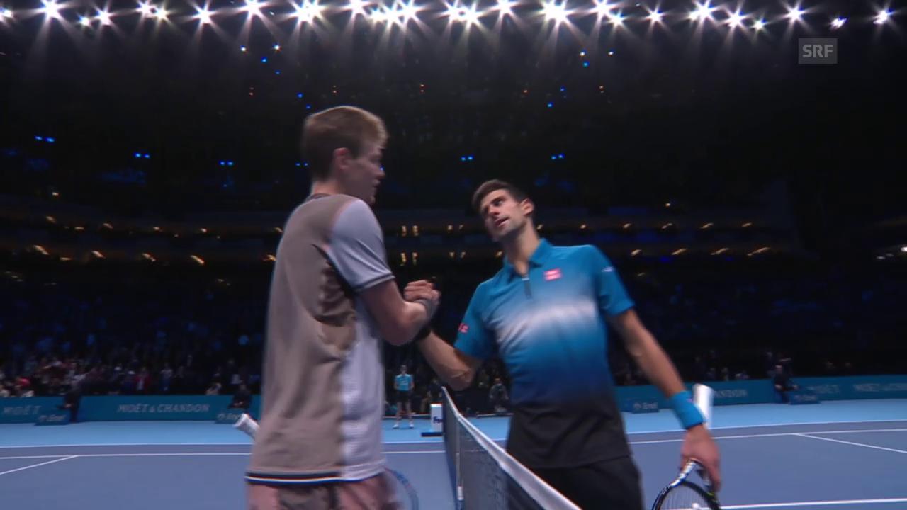Zusammenfassung Djokovic gegen Berdych