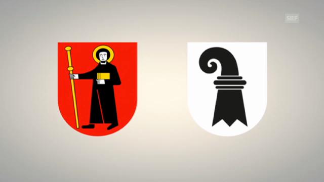 Vergleich von Glarus mit Basel-Stadt