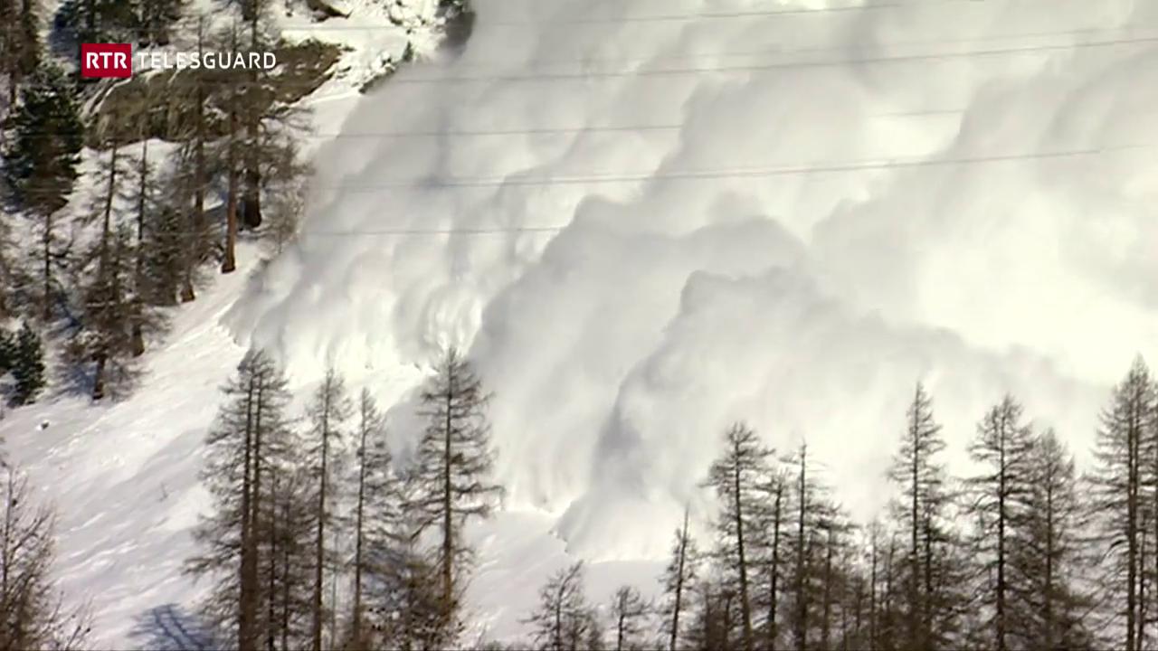 Grond privel da lavinas en il Grischun