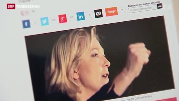 Video «Front National auf dem Vormarsch» abspielen