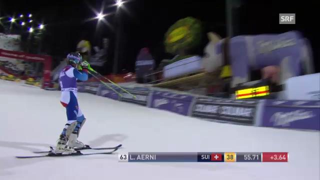 Luca Aernis Weltcup-Debüt am 18.12.2012