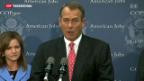 Video «John Boehner schlägt Plan B vor» abspielen