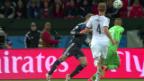 Video «FIFA WM 2014: Vorschau auf den Viertelfinal Frankreich - Deutschland» abspielen