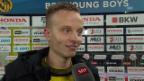 Video «Fussball: Super League, YB - Thun, Interview mit Hadergjonaj» abspielen