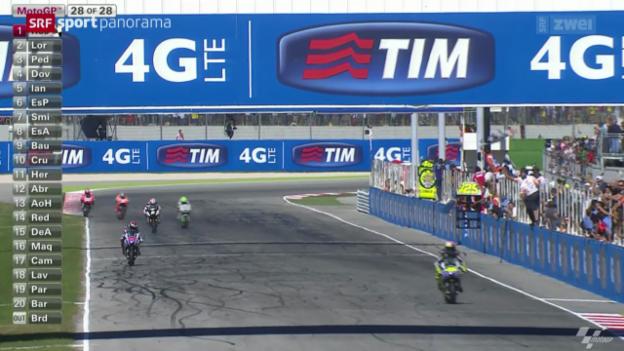 Video «Motorrad: GP San Marino, MotoGP» abspielen
