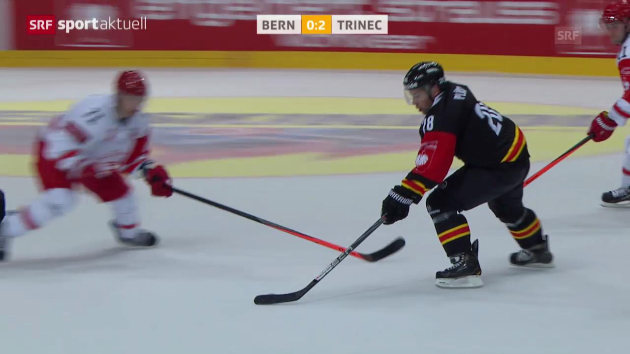 Eishockey: CHL, SC Bern - Trinec
