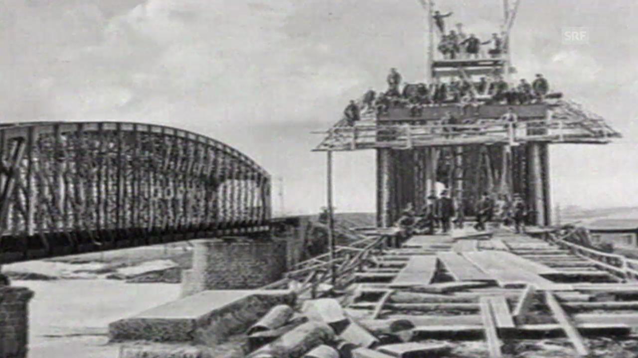 Geschichte der Transsibirischen Eisenbahn («10vor10», 13.07.1993)