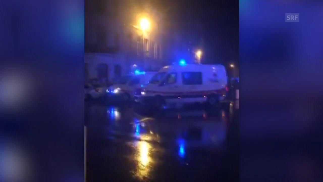 Explosion zerstört drei Wohnhäuser in Antwerpen
