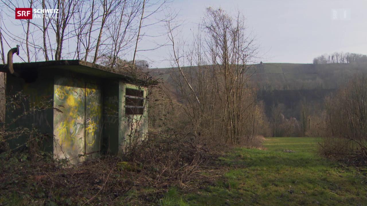 Sanierungspläne für unterirdisches Tanklager in Eglisau