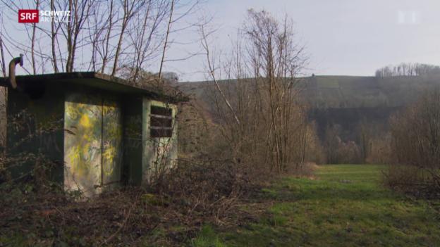 Video «Sanierungspläne für unterirdisches Tanklager in Eglisau» abspielen