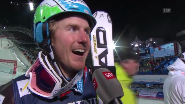 Ski-WM: Superkombination Männer, Interview mit Ted Ligety