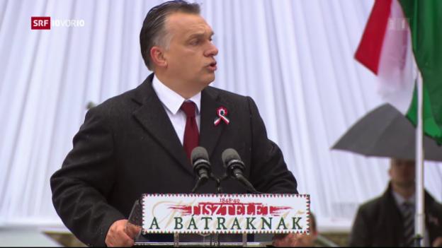 Video «Die Propagandamaschinerie in Ungarn ist im vollen Gang» abspielen