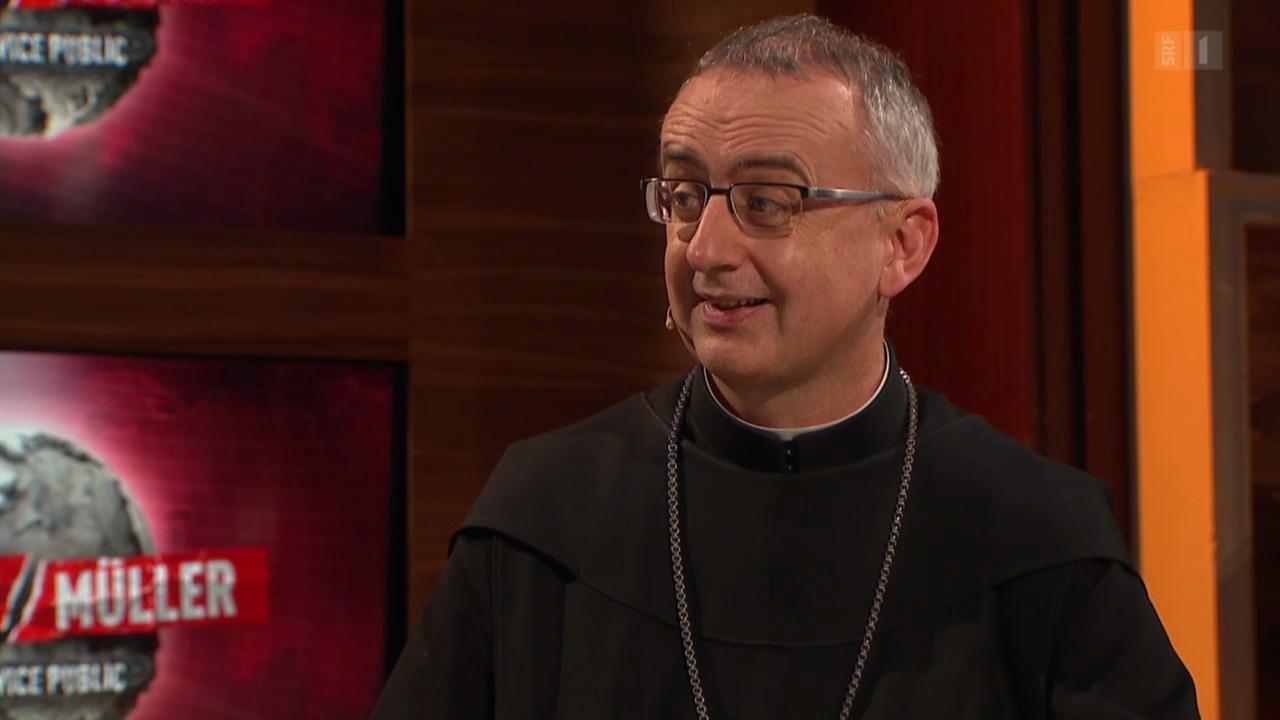 Talkgast: Abt Martin Werlen