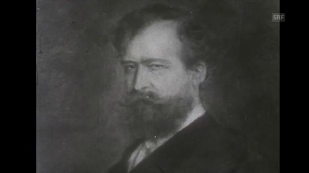 Video «50. Todestag Wilhelm Busch (Tagesschau, 30.12.1958)» abspielen