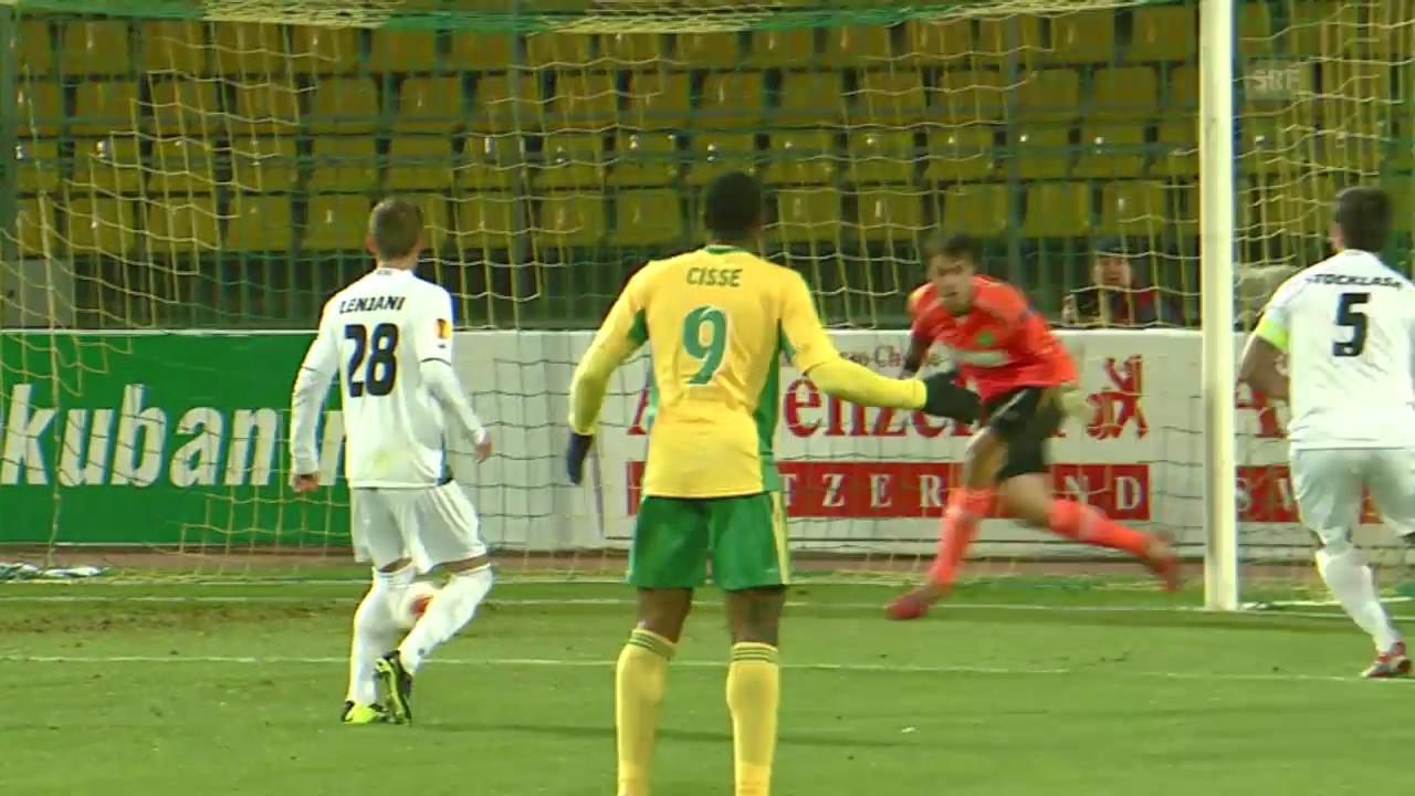 Fussball: Kuban Krasnodar - St. Gallen
