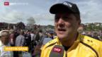 Video «Schwingen: Martin Grabs Saisonauftakt in Küssnacht am Rigi» abspielen