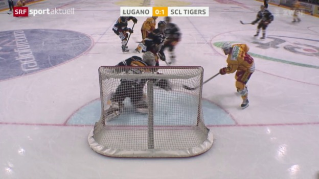Video «Eishockey: NLA, Lugano - SCL Tigers» abspielen