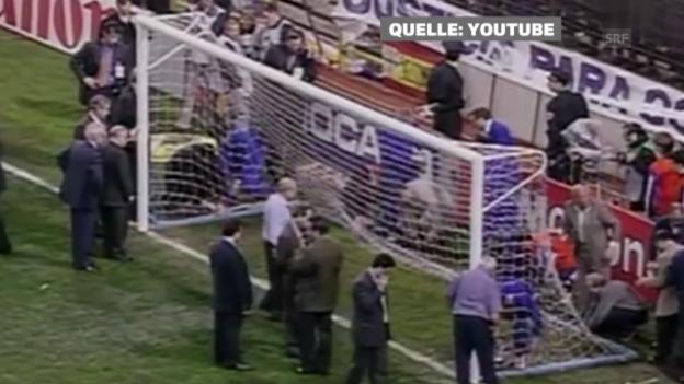 Video «Der Torfall von Madrid 1998» abspielen
