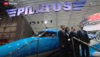 Video «Pilatus-Flugzeug ausverkauft» abspielen