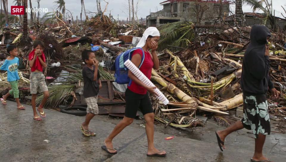 Katastrophe auf den Philippinen