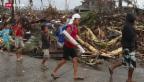 Video «Katastrophe auf den Philippinen» abspielen
